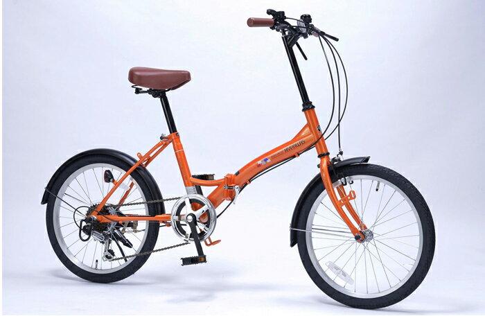 マイパラス MYPALLAS 折りたたみ自転車 20インチ M-209 4色 6段ギア付(代引不可)【ポイント10倍】【送料無料】【smtb-f】