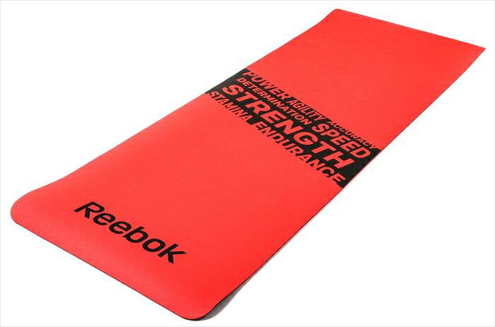 Reebok リーボック フィットネスマット ストレングス レッド RAMT-11024RDS フィットネス トレーニング エクササイズグッズ【ポイント10倍】【inte_D1806】