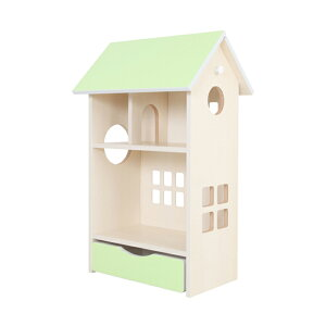 ドールハウス シェルフ 木製 かわいい インテリア 子供 子供部屋 飾り 小学生(代引不可)【送料無料】