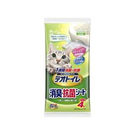 ユニ・チャーム デオトイレ消臭・抗菌シート4枚【S1】