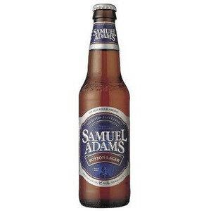 アメリカ サミエルアダムス ボストンラガー 瓶 輸入ビール 355ml×24本【ポイント10倍】