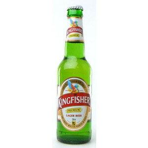 インド キングフィッシャー 瓶 輸入ビール 330ml×24本【ポイント10倍】