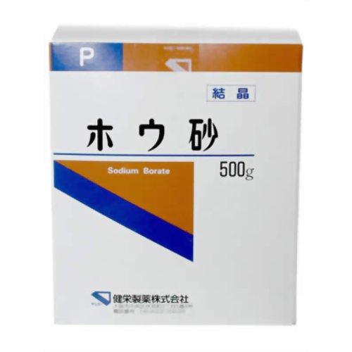 ホウ砂(結晶)P 500g 健栄製薬【ポイント10倍】