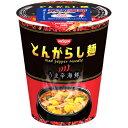 【ケース販売】日清のとんがらし麺 うま辛海鮮 64g×12個 日清食品