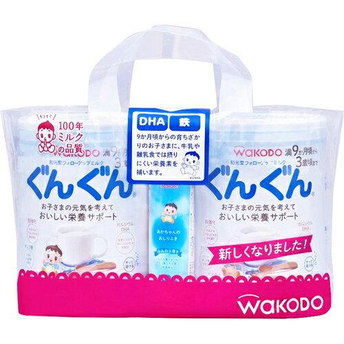 フォローアップミルク ぐんぐん 830g×2個パック(おしりふき50枚入×1個付き) アサヒグループ食品【ポイント10倍】