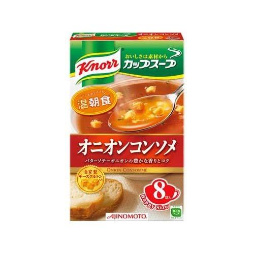 クノールカップスープ オニオンコンソメ 8袋入 味の素【ポイント10倍】