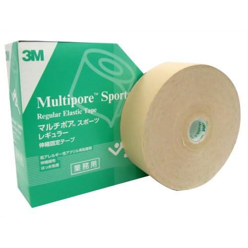 3M マルチポア スポーツ 粘着性綿布伸縮包帯 50mm*33m 1ロール【ポイント10倍】