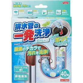 排水管の一発洗浄 石けんタイプ(4g*40錠)【ポイント10倍】