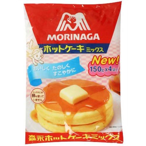森永 ホットケーキミックス 600g(150g×4袋) 森永製菓【ポイント10倍】
