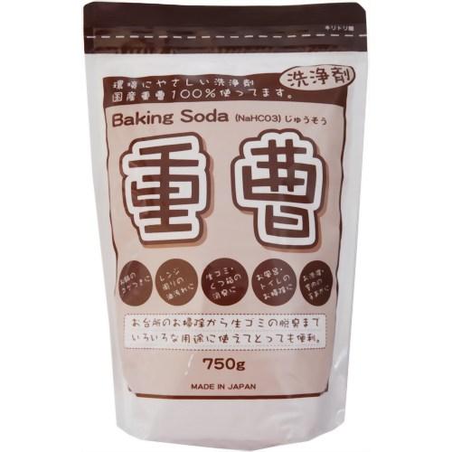 重曹 Baking Soda 750g 地の塩社【ポイント10倍】
