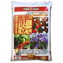 SUNBELLEX 花と野菜の培養土 贅沢仕立て培養土 25L こうじや【ポイント10倍】