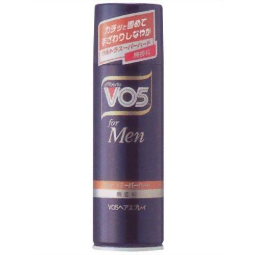 VO5 for MEN ヘアスプレイ ウルトラスーパーハード 無香料 135g サンスター【ポイント10倍】