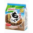 クノール 沖縄産もずくスープ 5袋 味の素【ポイント10倍】
