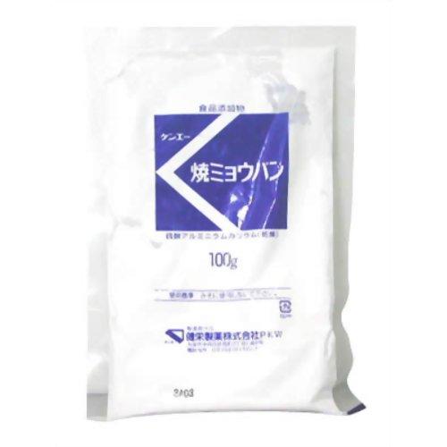 焼ミョウバン マツ 100g 健栄製薬【ポイント10倍】