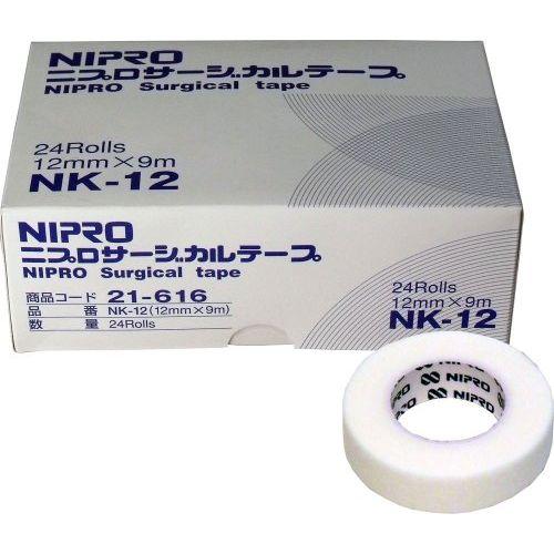 ニプロ サージカルテープ 12mm×9m 24個入り【ポイント10倍】