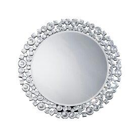 鏡 壁掛け 卓上 2way ミラー クロシオ 丸型ミラー クリスタル ミラー(代引不可)【ポイント10倍】【送料無料】