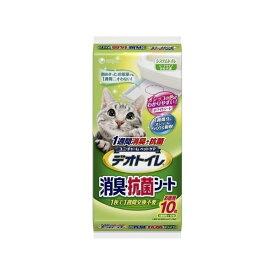 ユニ・チャームペットケアカンパニ 1週間消臭抗菌デオトイレ専用シート 10枚【S1】