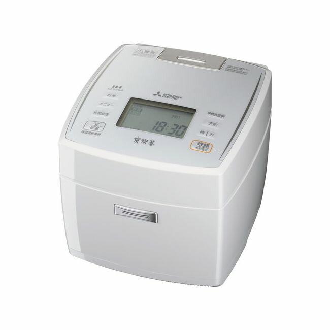 三菱電機 IHジャー炊飯器 5.5合 炭炊釜 NJ-VV108-W ピュアホワイト【ポイント10倍】【送料無料】【smtb-f】