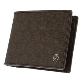 ダンヒル DUNHILL 二つ折り短財布 メンズ L2N732B ブラウン