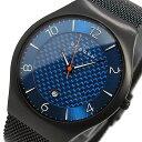 スカーゲン SKAGEN クオーツ メンズ 腕時計 時計 SKW6147 ブルー【ポイント10倍】【楽ギフ_包装】