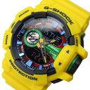 カシオ Gショック G-SHOCK クオーツ メンズ 腕時計 時計 GA-400-9A イエロー/マルチ【ポイント10倍】【楽ギフ_包装】