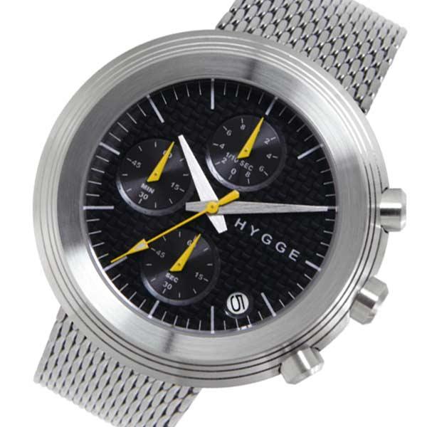 ピーオーエス POS ヒュッゲ Mesh クオーツ メンズ 腕時計 時計 MSM2312CBK ブラック【ポイント10倍】【楽ギフ_包装】