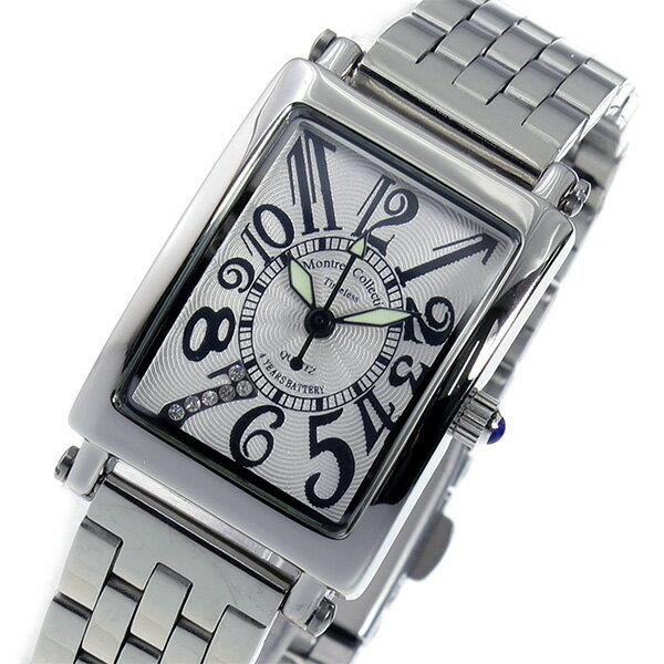 モントレス MONTRES Collection クオーツ レディース 腕時計 時計 MC-2526-6 ホワイト【ポイント10倍】【楽ギフ_包装】