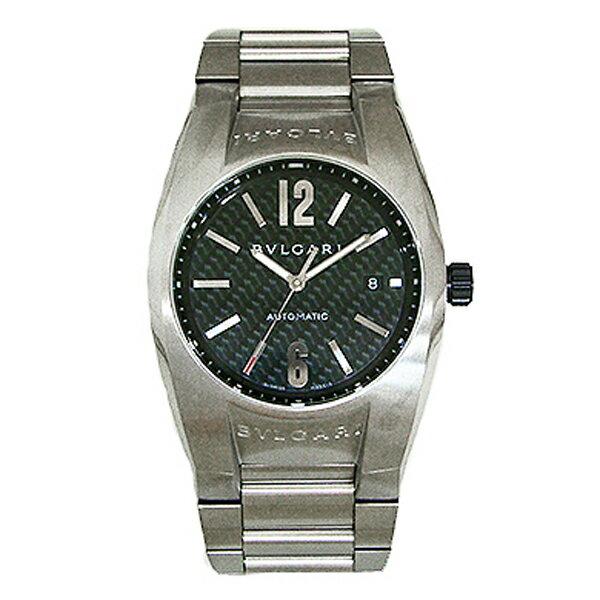 ブルガリ BVLGARI エルゴン 自動巻き メンズ 腕時計 EG40BSSDN ブラック【送料無料】【ポイント10倍】【楽ギフ_包装】