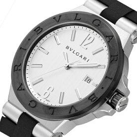 ブルガリ BVLGARI ディアゴノ 自動巻き メンズ 腕時計 DG42C6SCVD シルバー【送料無料】【ポイント10倍】