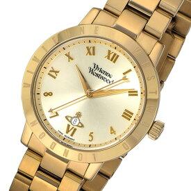ヴィヴィアン ウエストウッド クオーツ レディース 腕時計 時計 VV152GDGD ゴールド【ポイント10倍】