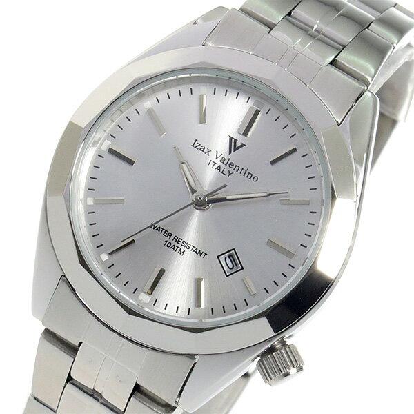 アイザック バレンチノ クオーツ レディース 腕時計 時計 IVL-560-2 シルバー【ポイント10倍】【楽ギフ_包装】【inte_D1806】