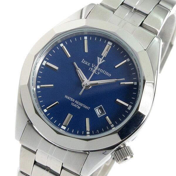 アイザック バレンチノ クオーツ レディース 腕時計 時計 IVL-560-3 ネイビー【ポイント10倍】【楽ギフ_包装】【inte_D1806】