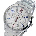 セイコー SEIKO クロノ ルキア クオーツ レディース 腕時計 時計 SRW831P1 ホワイト【ポイント10倍】【楽ギフ_包装】