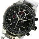 オリエント ORIENT クロノ クオーツ メンズ 腕時計 時計 STT0J002B0 ブラック【ポイント10倍】【楽ギフ_包装】