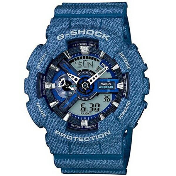 カシオ CASIO Gショック G-SHOCK アナデジ デニムカラー メンズ 腕時計 時計 GA-110DC-2A デニムブルー【ポイント10倍】【楽ギフ_包装】