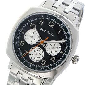 ポールスミス PAUL SMITH アトミック ATOMIC クオーツ メンズ 腕時計 時計 P10043 ブラック【ポイント10倍】
