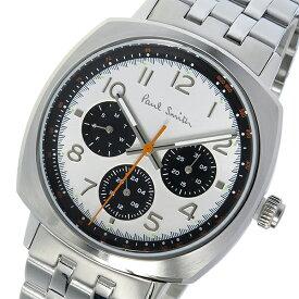 ポールスミス PAUL SMITH アトミック ATOMIC クオーツ メンズ 腕時計 時計 P10044 ホワイトシルバー【ポイント10倍】