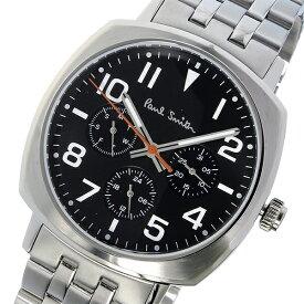 ポールスミス PAUL SMITH アトミック ATOMIC クオーツ メンズ 腕時計 時計 P10046 ブラック【ポイント10倍】