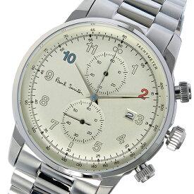 ポールスミス PAUL SMITH ブロック クロノ クオーツ メンズ 腕時計 P10142 シャンパンゴールド【送料無料】【ポイント10倍】