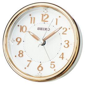 セイコー SEIKO スタンダード 目覚まし時計 KR897B ホワイト【ポイント10倍】