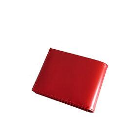 エッティンガー ETTINGER BRIDLE HIDE メンズ 短財布 BH141JR-RED レッド【ポイント10倍】