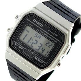 カシオ CASIO クオーツ ユニセックス 腕時計 時計 F-91WM-7A ブラック【ポイント10倍】