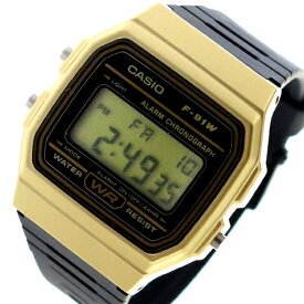 カシオ CASIO クオーツ ユニセックス 腕時計 時計 F-91WM-9A ブラック【ポイント10倍】