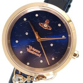 ヴィヴィアンウエストウッド Vivienne Westwood クオーツ レディース 腕時計 時計 VV139NVNV ネイビー【ポイント10倍】