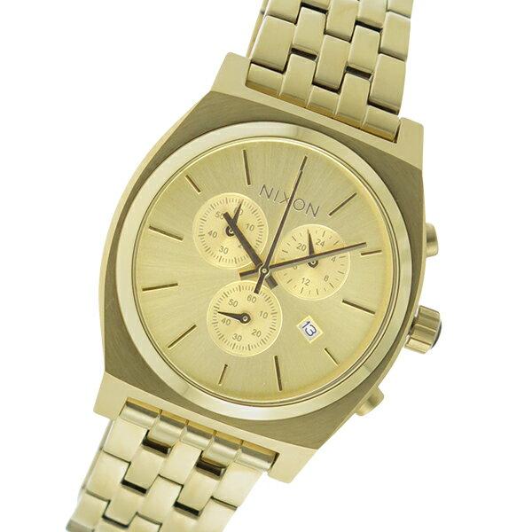 ニクソン NIXON クオーツ メンズ 腕時計 時計 A972-502 ゴールド【ポイント10倍】【楽ギフ_包装】