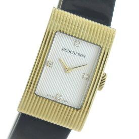 ブシュロン BOUCHERON リフレ クオーツ レディース 腕時計 WA009426 ホワイト/ブラック【送料無料】【ポイント10倍】