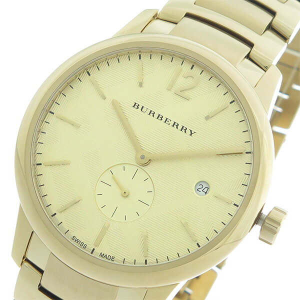 バーバリー BURBERRY クオーツ メンズ 腕時計 BU10006 ゴールド/ゴールド【送料無料】【ポイント10倍】【楽ギフ_包装】
