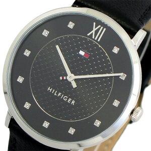 トミーヒルフィガー TOMMY HILFIGER 腕時計 時計 レディース 1781808 クォーツ ブラック【ポイント10倍】