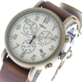 a6f0e423e8 タイメックス TIMEX インディグロ INDIGLO クオーツ メンズ 腕時計 時計 TW2P85300 オフホワイト/ブラウン【ポイント