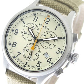 2e8c1fc8b8 タイメックス TIMEX 腕時計 時計 メンズ TW2R47300 クォーツ アイボリー【ポイント10倍】